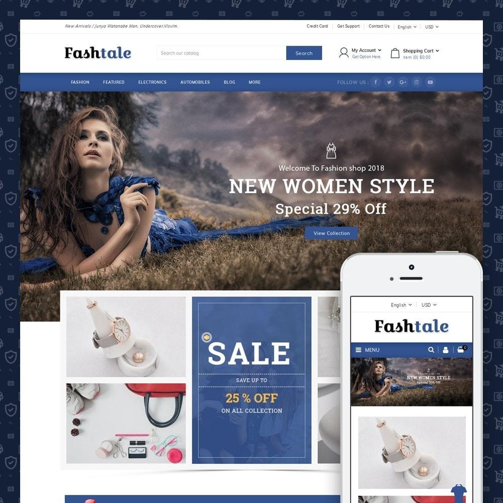Fashtale - Apparel Store