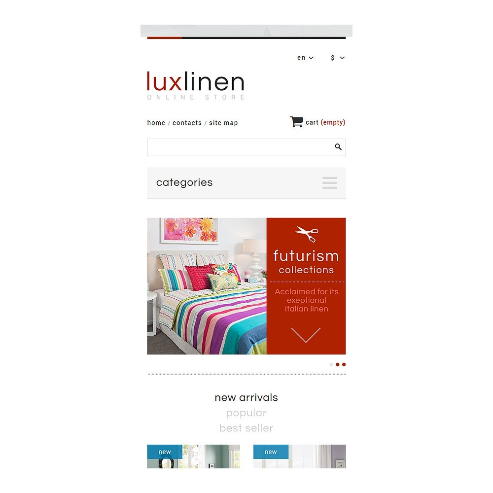 theme - Art & Culture - Luxury Linen Store - 8