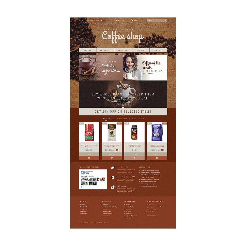 theme - Lebensmittel & Restaurants - Coffee Aroma - 10