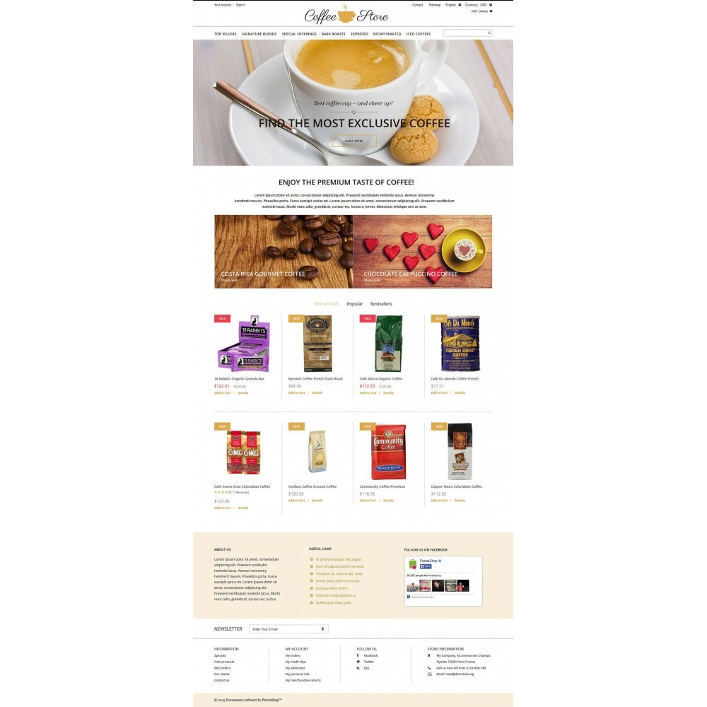 theme - Żywność & Restauracje - Coffee Shop - 2