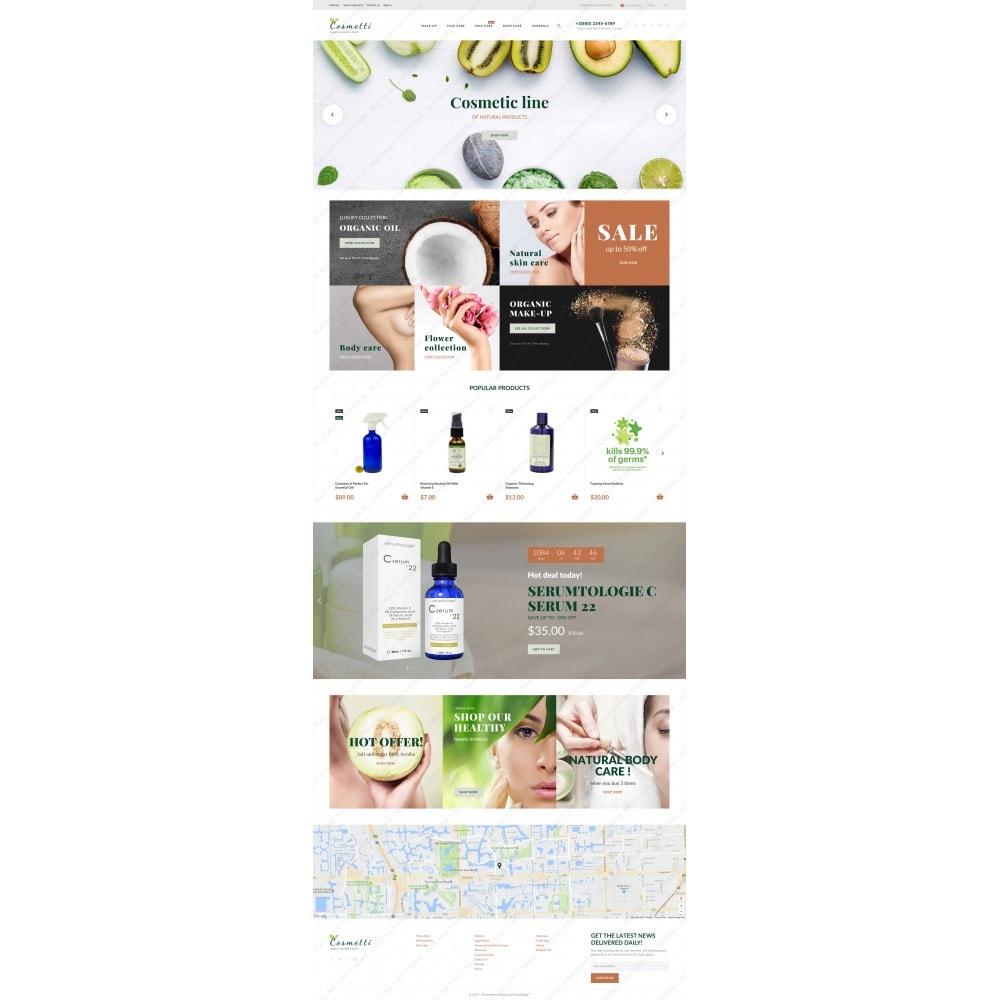 Cosmetti - Cosmetics Store