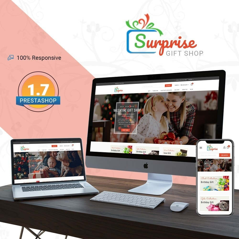 theme - Gifts, Flowers & Celebrations - Surprise - Gift Store - 1