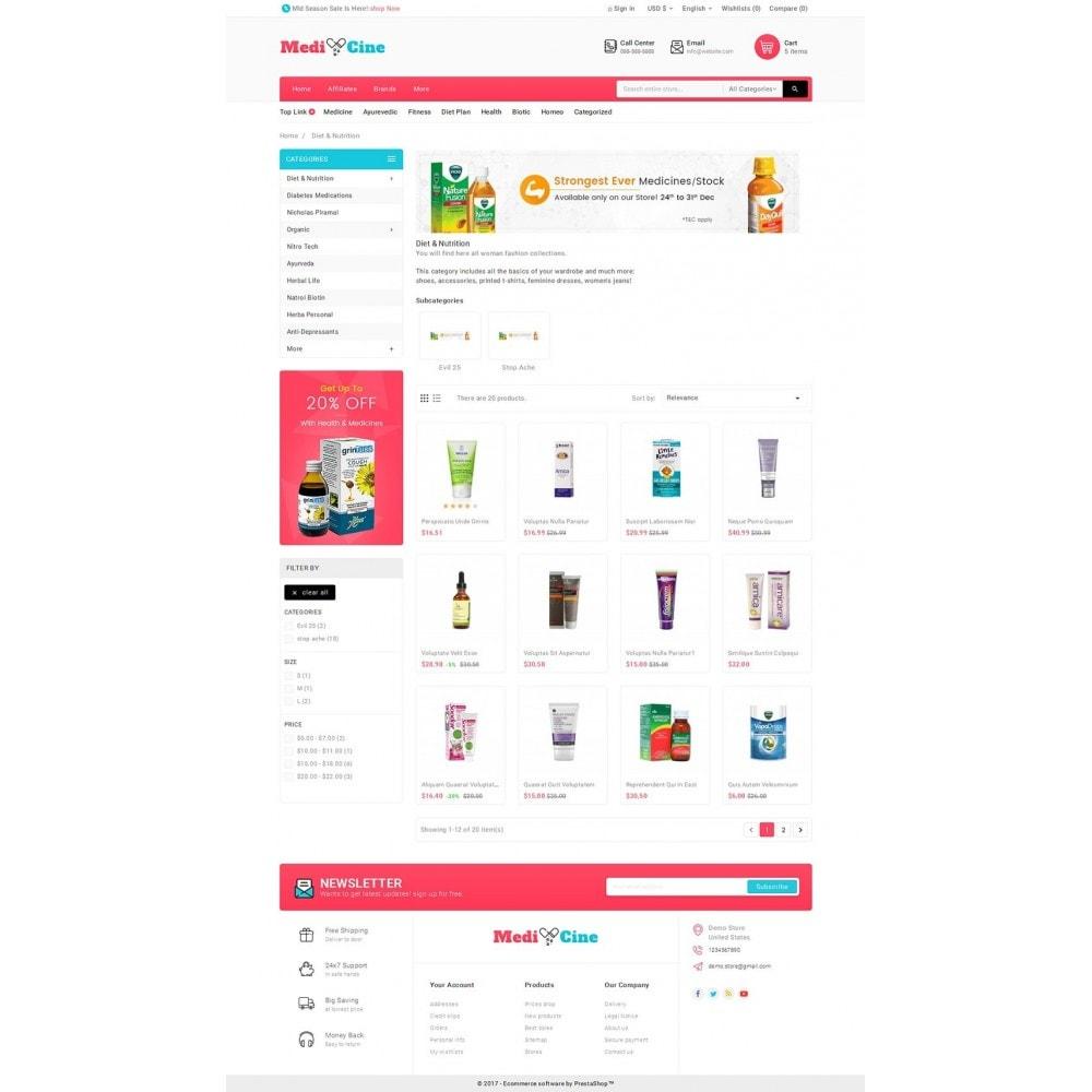 theme - Salute & Bellezza - Medicine Mega Store - 4