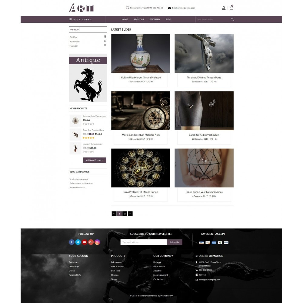 theme - Искусство и Культура - ART Store - 9