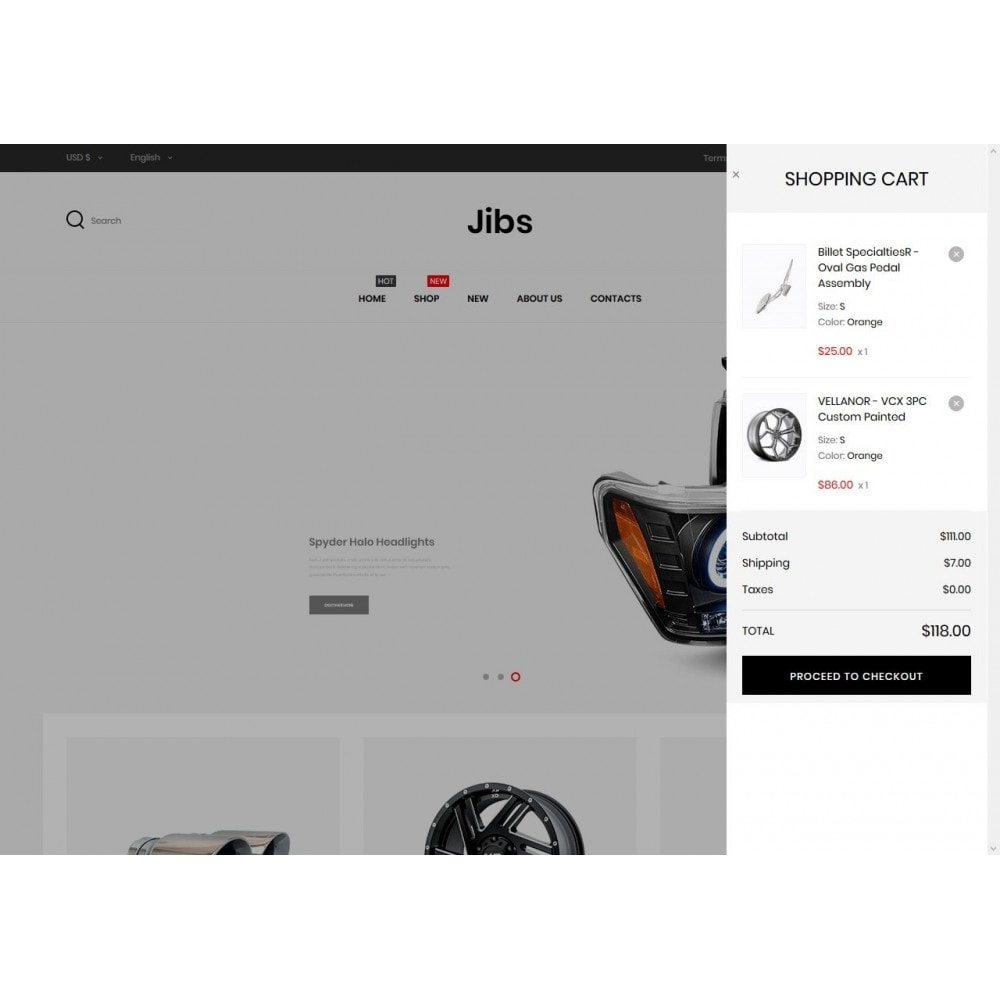 theme - Automotive & Cars - Jibs - 7