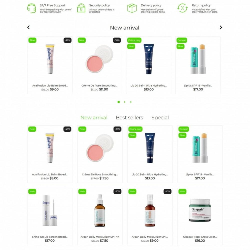 theme - Zdrowie & Uroda - Claire Cosmetics - 3