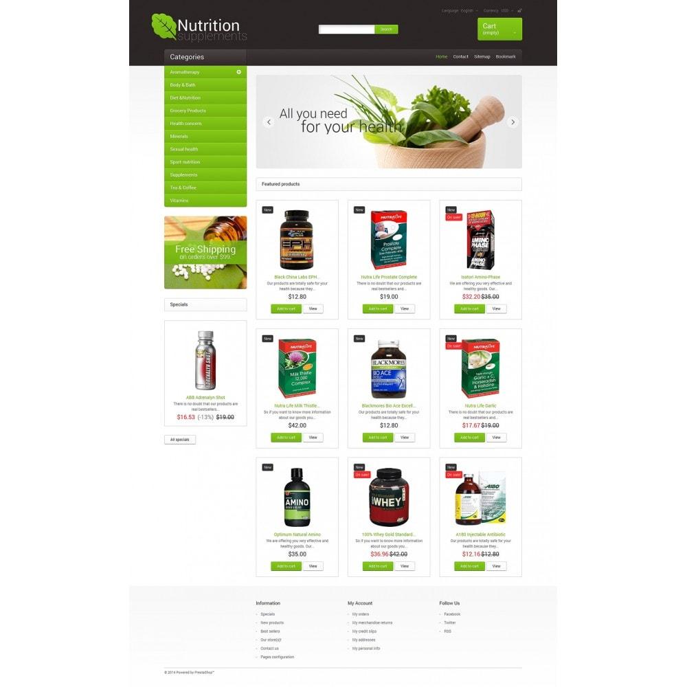 theme - Здоровье и красота - Nutrition Supplements - 2