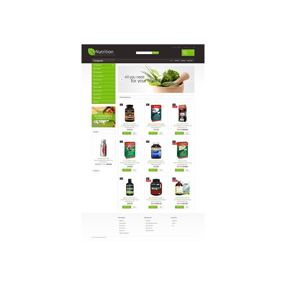 theme - Здоровье и красота - Nutrition Supplements - 10