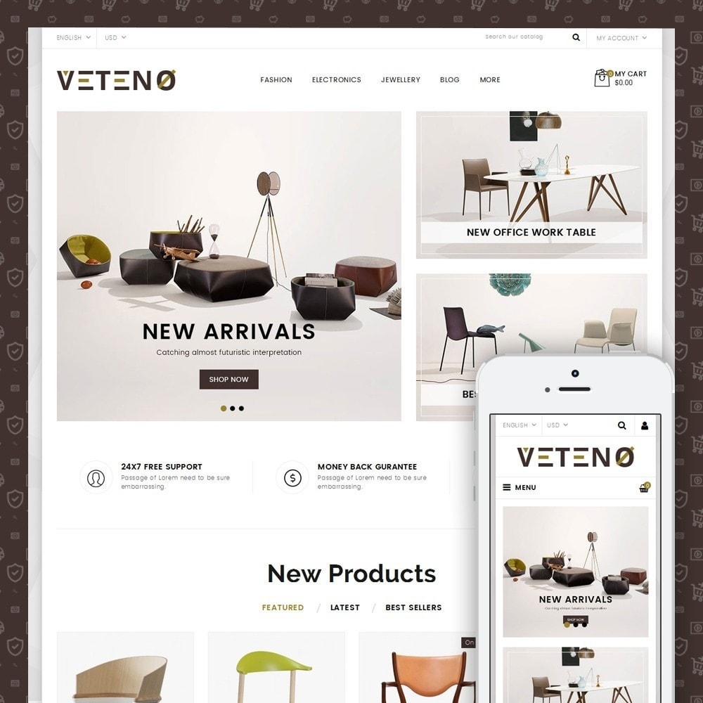 theme - Maison & Jardin - Veteno - Furniture Store - 1