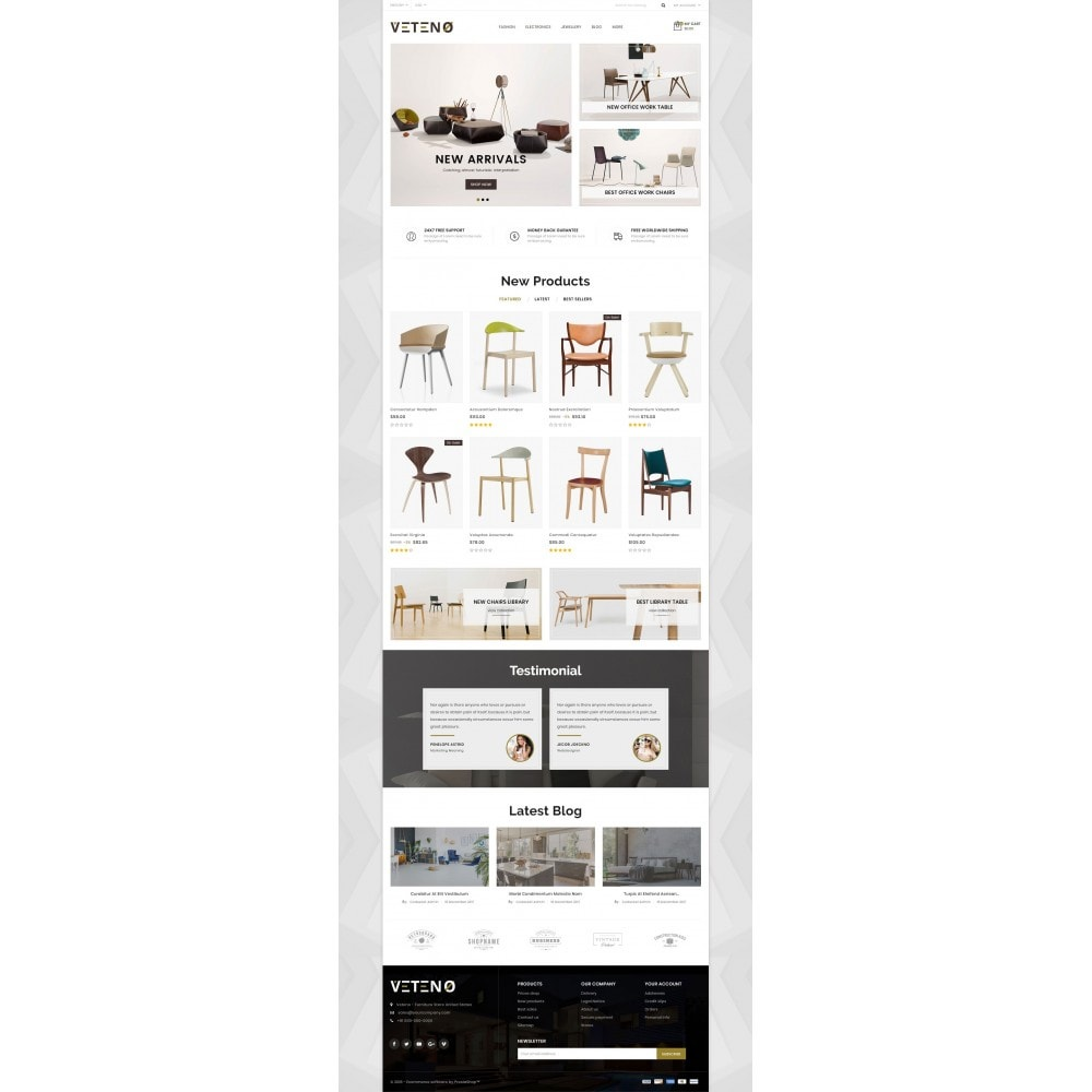 theme - Maison & Jardin - Veteno - Furniture Store - 2