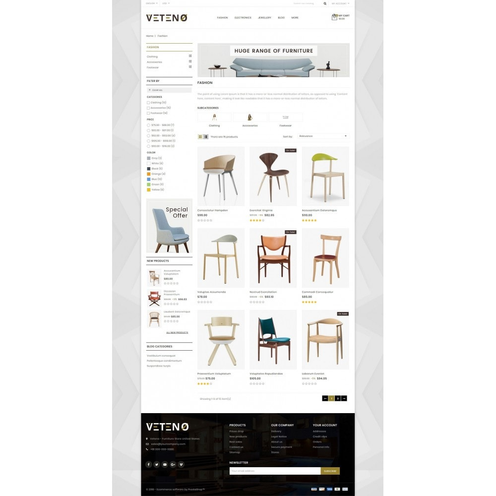 theme - Maison & Jardin - Veteno - Furniture Store - 3