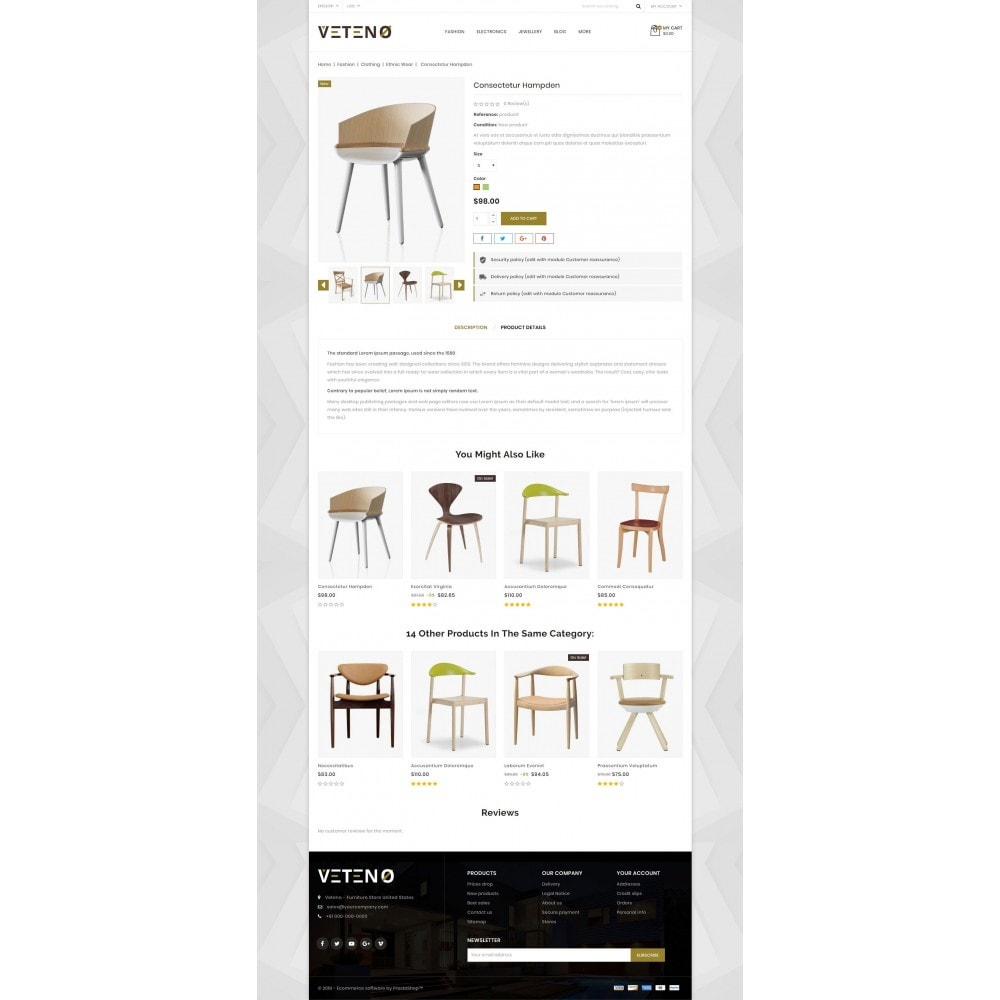theme - Maison & Jardin - Veteno - Furniture Store - 5