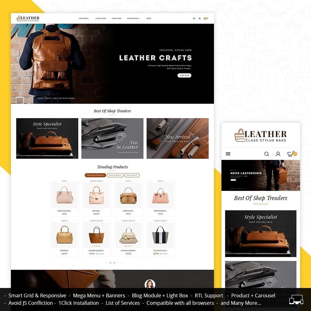 theme - Moda y Calzado - Leather Bag Crafts - 2