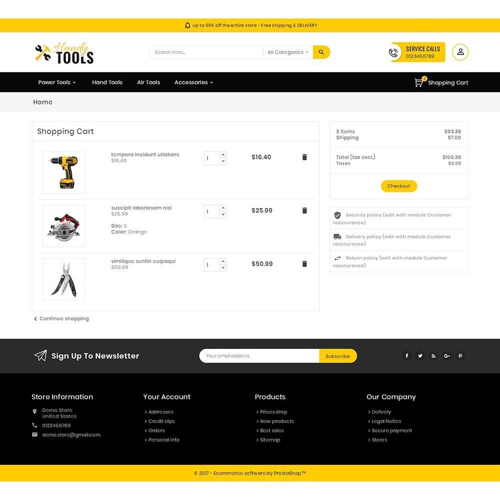 theme - Electrónica e High Tech - Handy Tools Store - 7