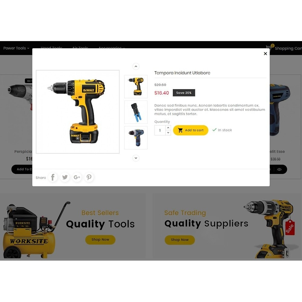 theme - Electrónica e High Tech - Handy Tools Store - 9