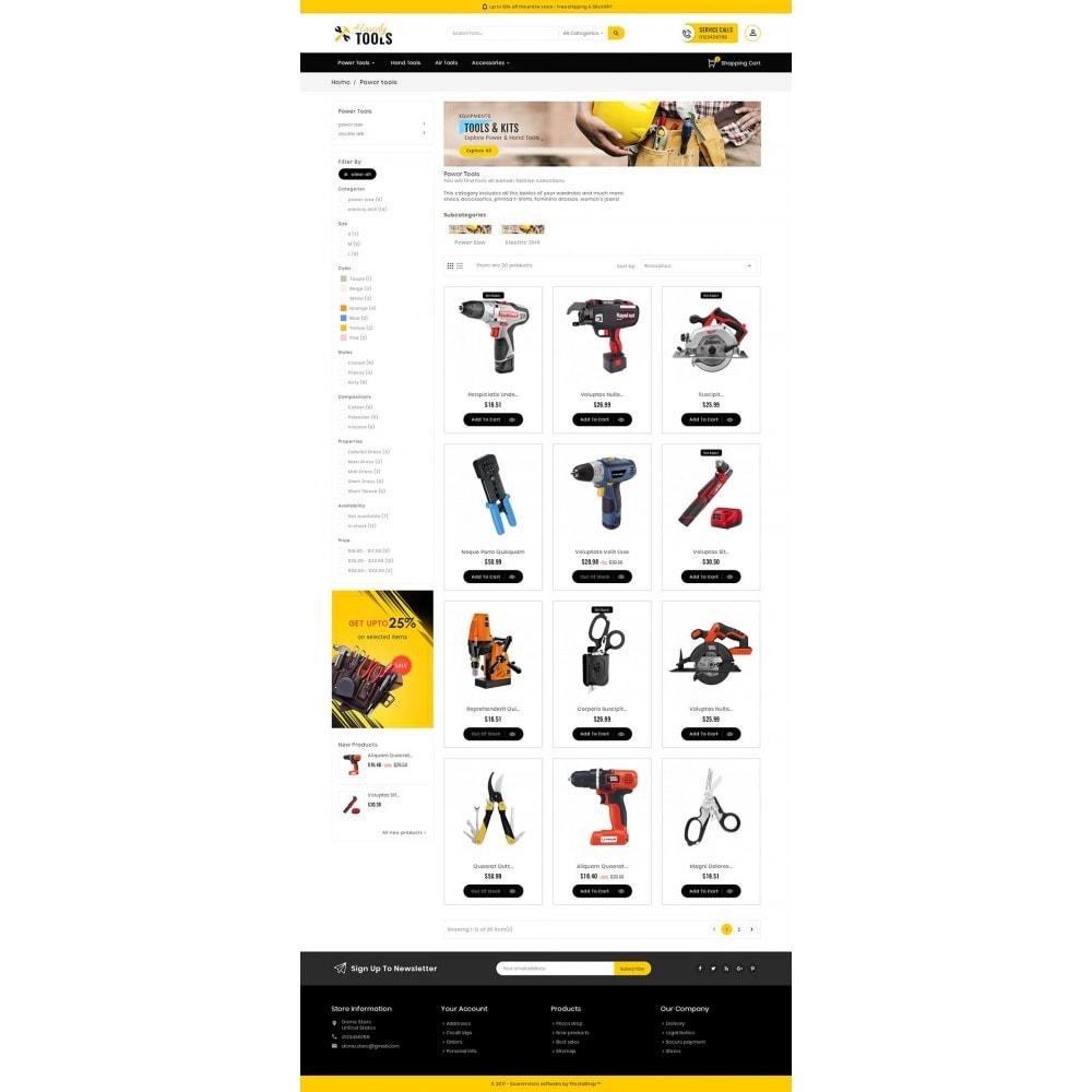theme - Elektronik & High Tech - Handy Tools Store - 4