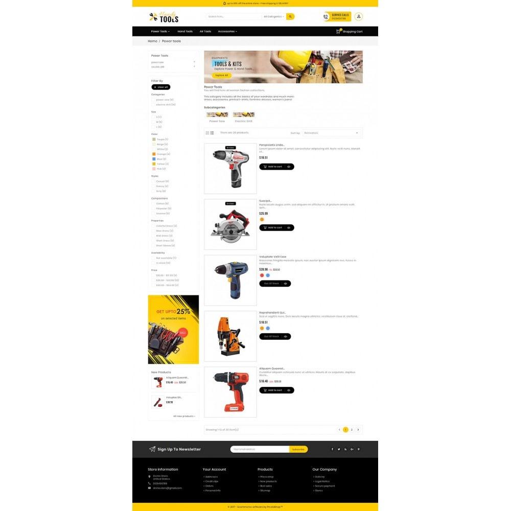 theme - Elektronik & High Tech - Handy Tools Store - 5