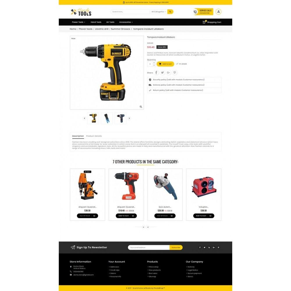 theme - Elektronik & High Tech - Handy Tools Store - 6