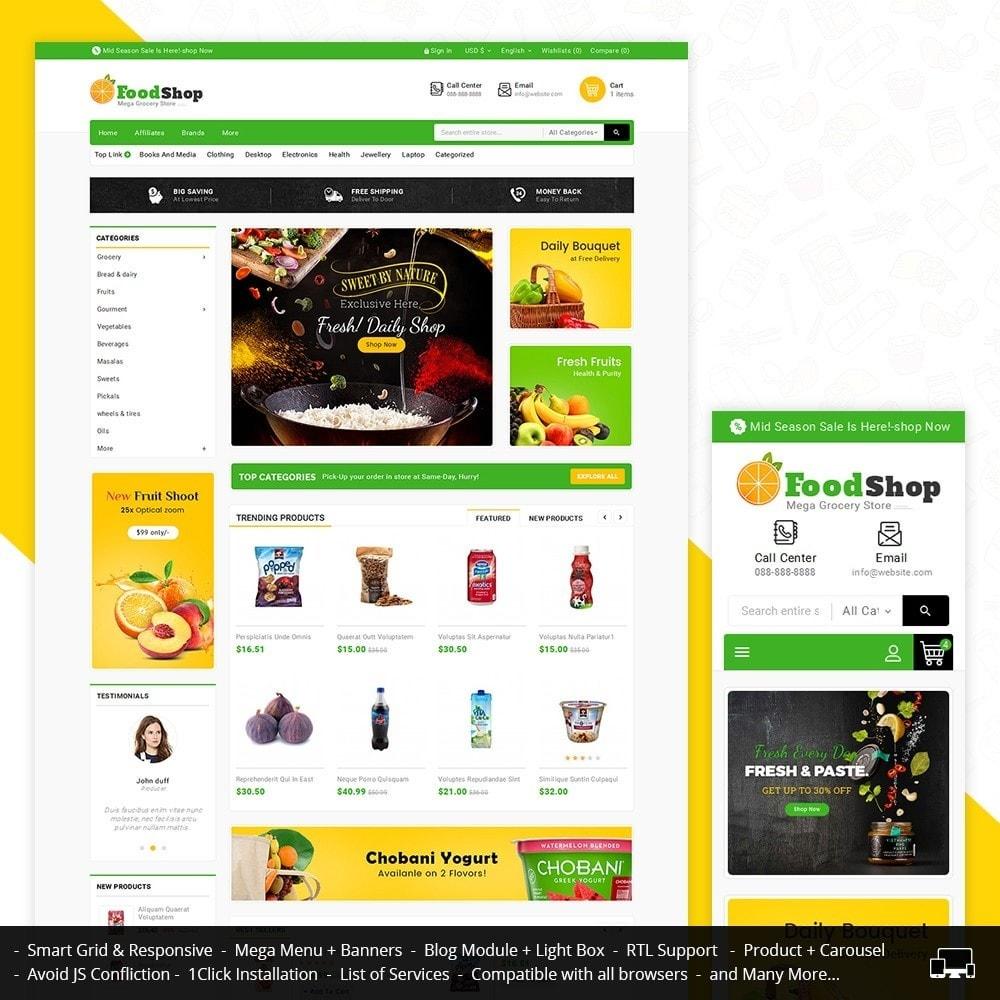 theme - Lebensmittel & Restaurants - Grocery Food Mega Store - 2