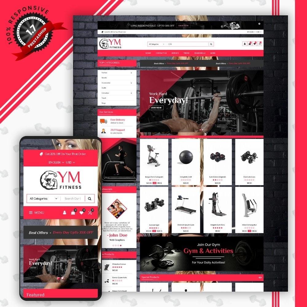 theme - Desporto, Actividades & Viagens - Mega Gym Shop - 1