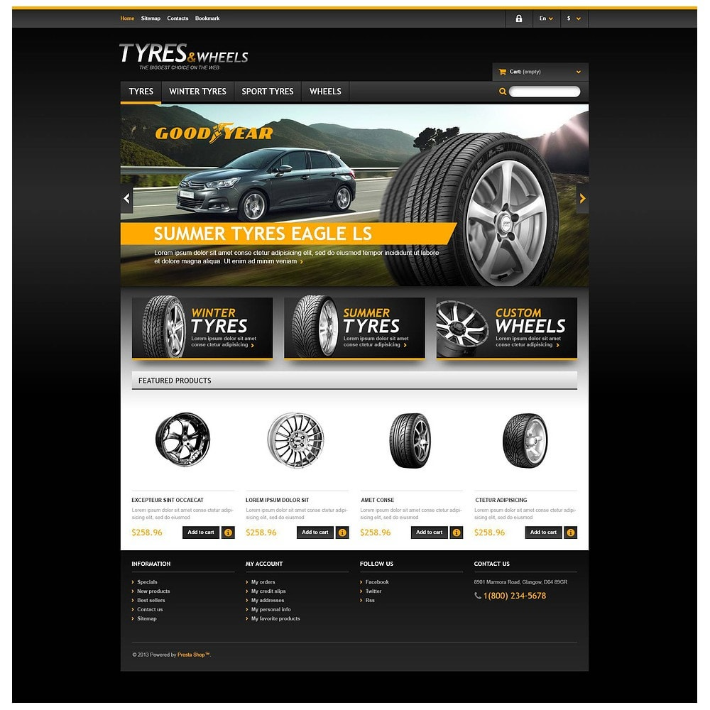 theme - Coches y Motos - Tyres & Wheels Store - 2