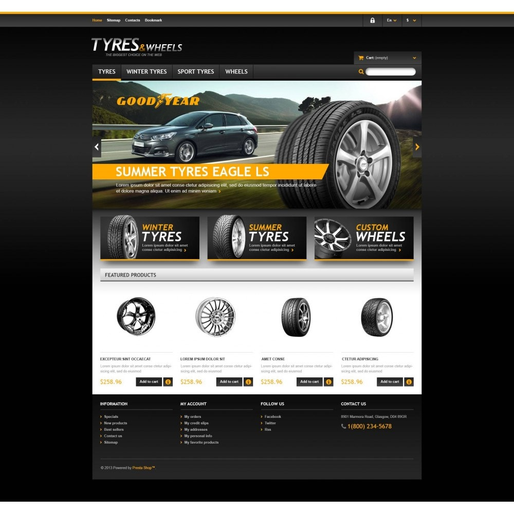 theme - Coches y Motos - Tyres & Wheels Store - 4