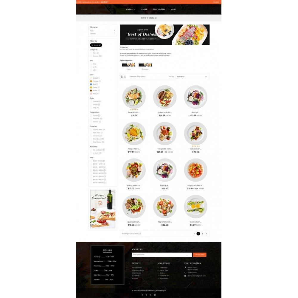 theme - Gastronomía y Restauración - Good Gusto Food - 4