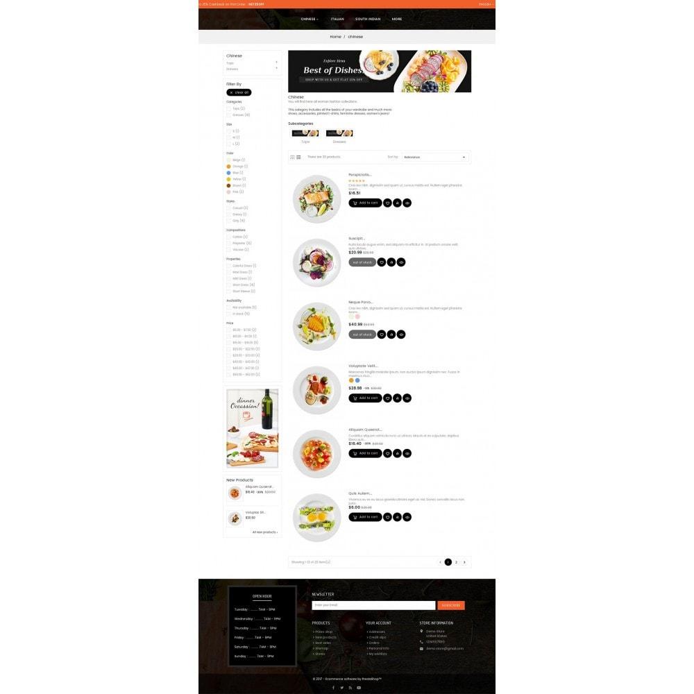 theme - Gastronomía y Restauración - Good Gusto Food - 5