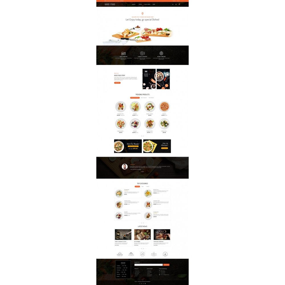 theme - Lebensmittel & Restaurants - Good Gusto Food - 3