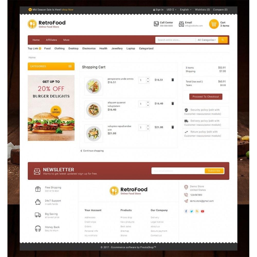 theme - Gastronomía y Restauración - Fast Foods Mega Store - 7