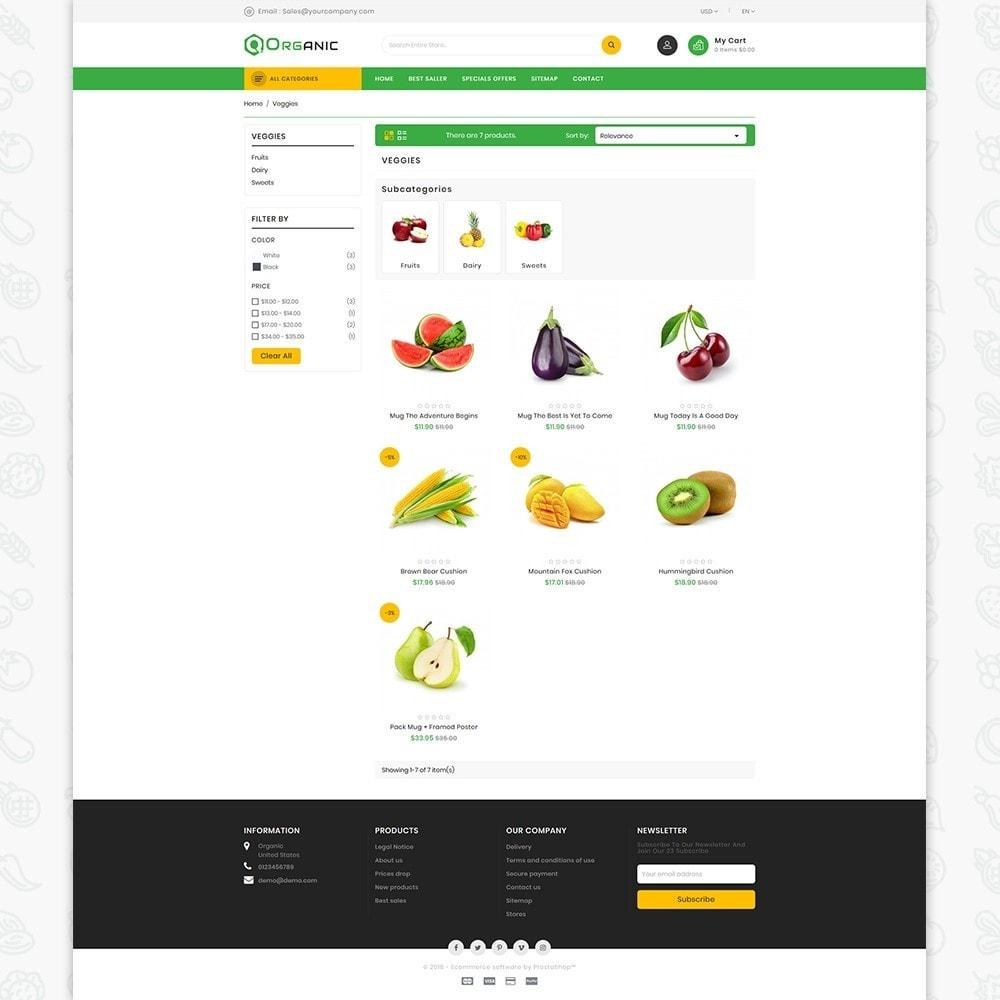 Organic Food - The Food