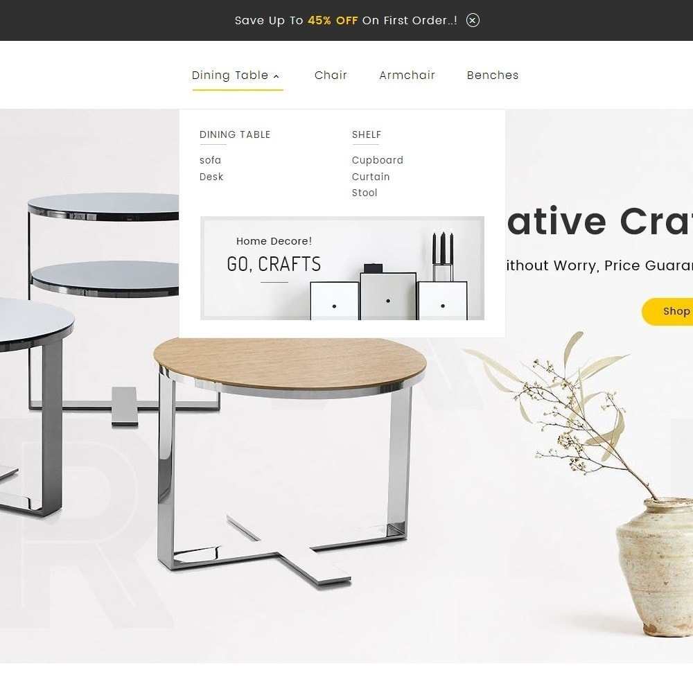 theme - Maison & Jardin - Craft Furniture Store - 10