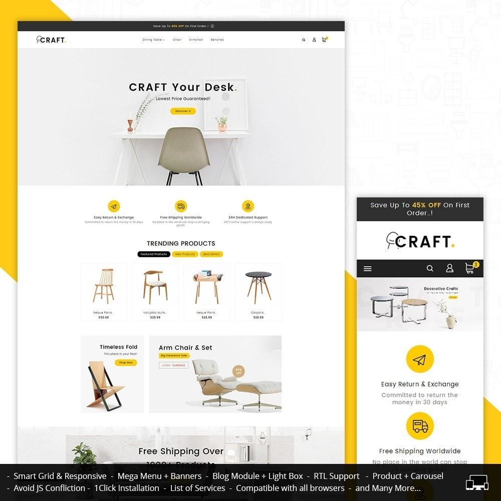 theme - Casa & Giardino - Craft Furniture Store - 2