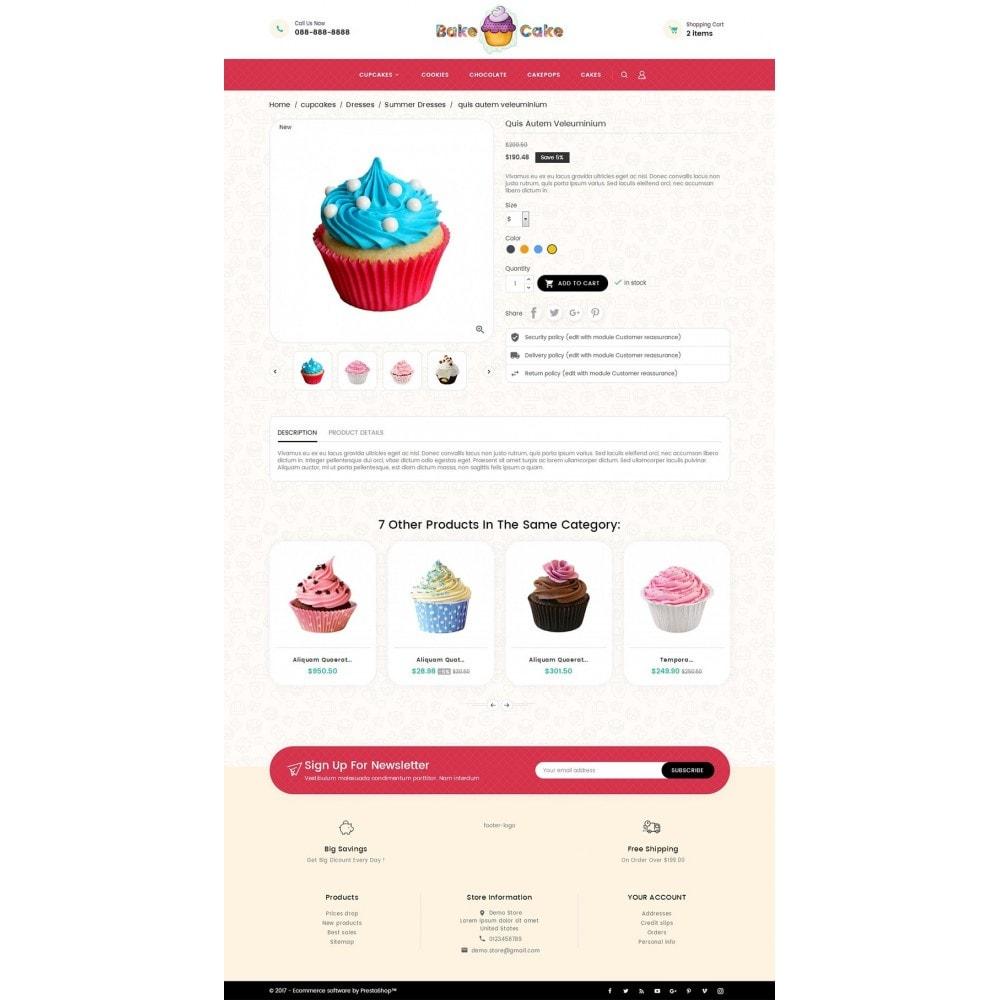 theme - Gastronomía y Restauración - Cake Shop - 6