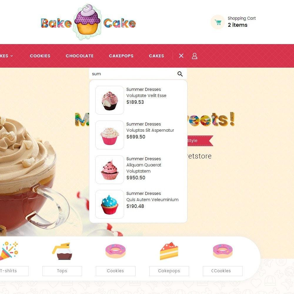 theme - Gastronomía y Restauración - Cake Shop - 11