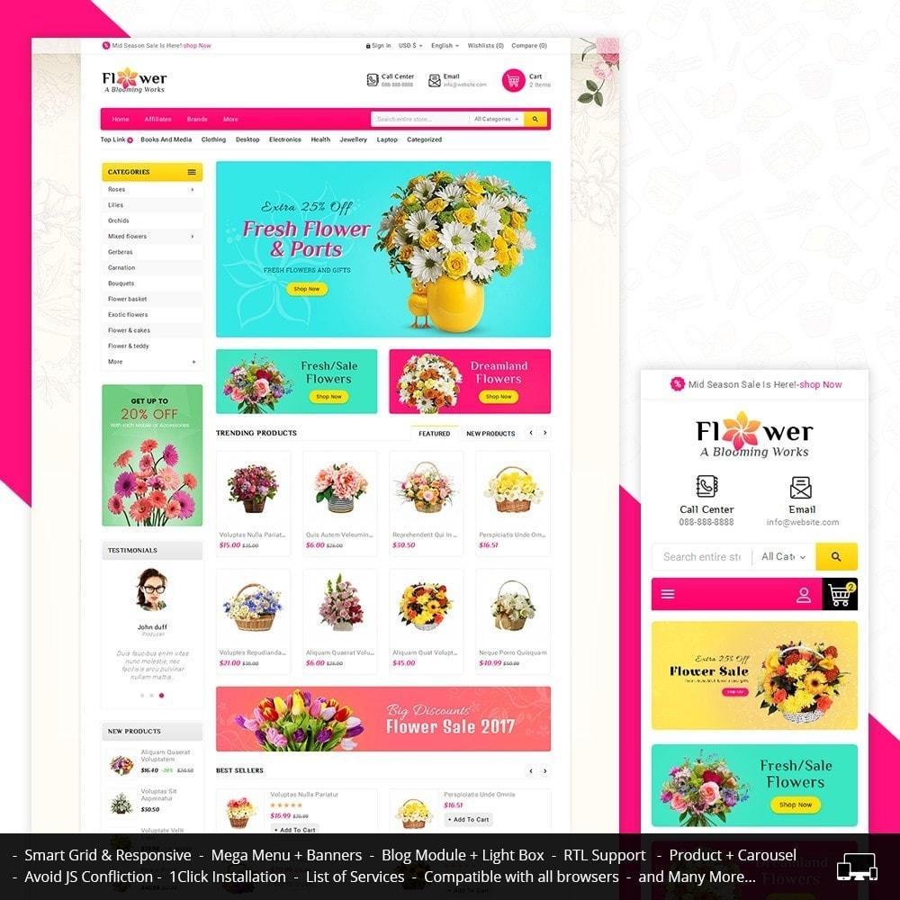 Blooming Flower Mega Store