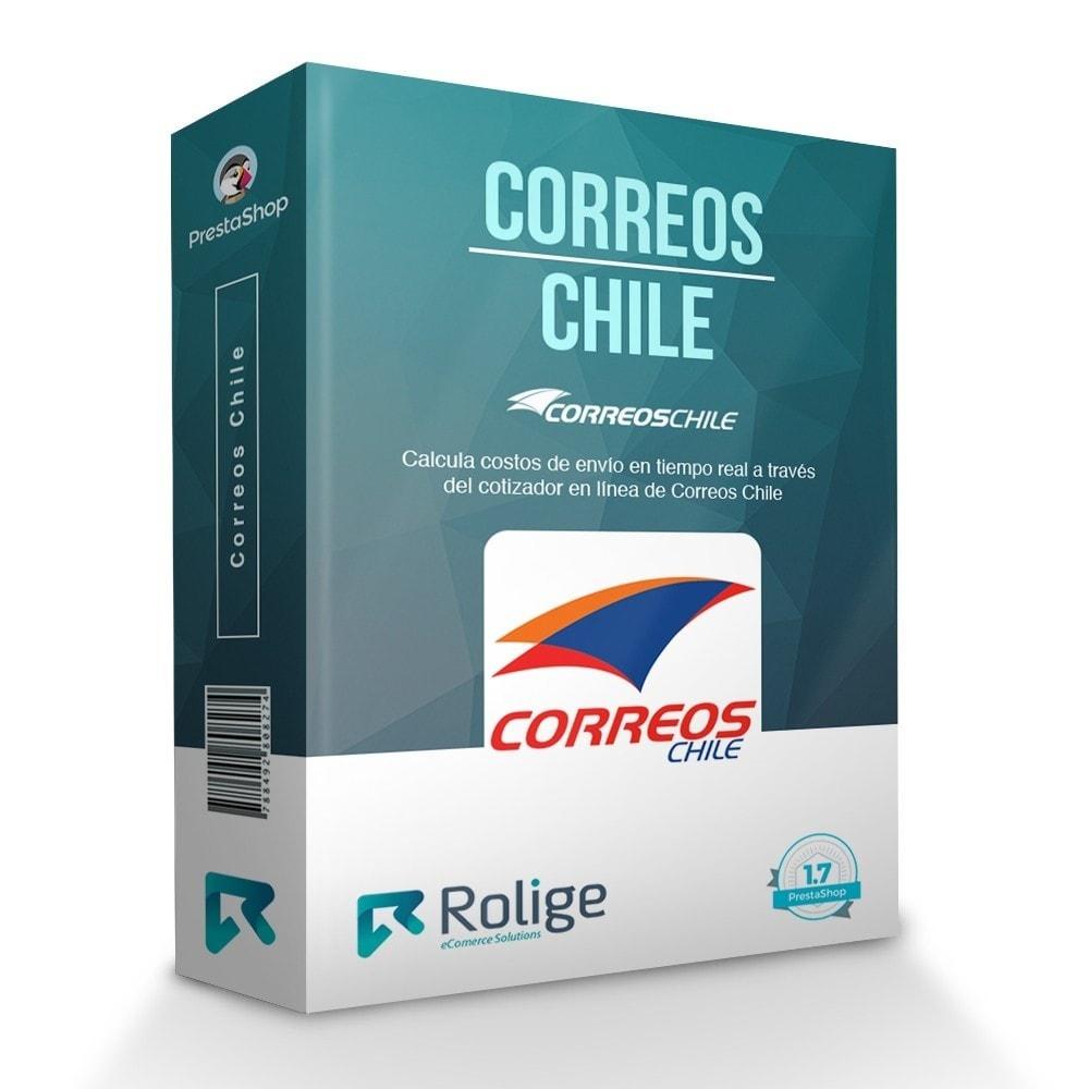 module - Gastos de transporte - Correos Chile - 1