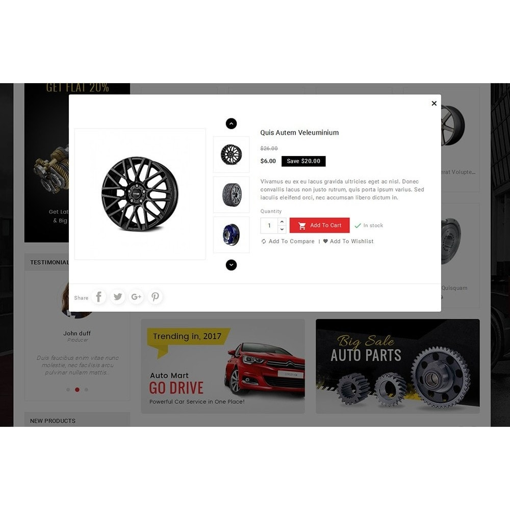 theme - Coches y Motos - Auto Parts Mega Store - 9