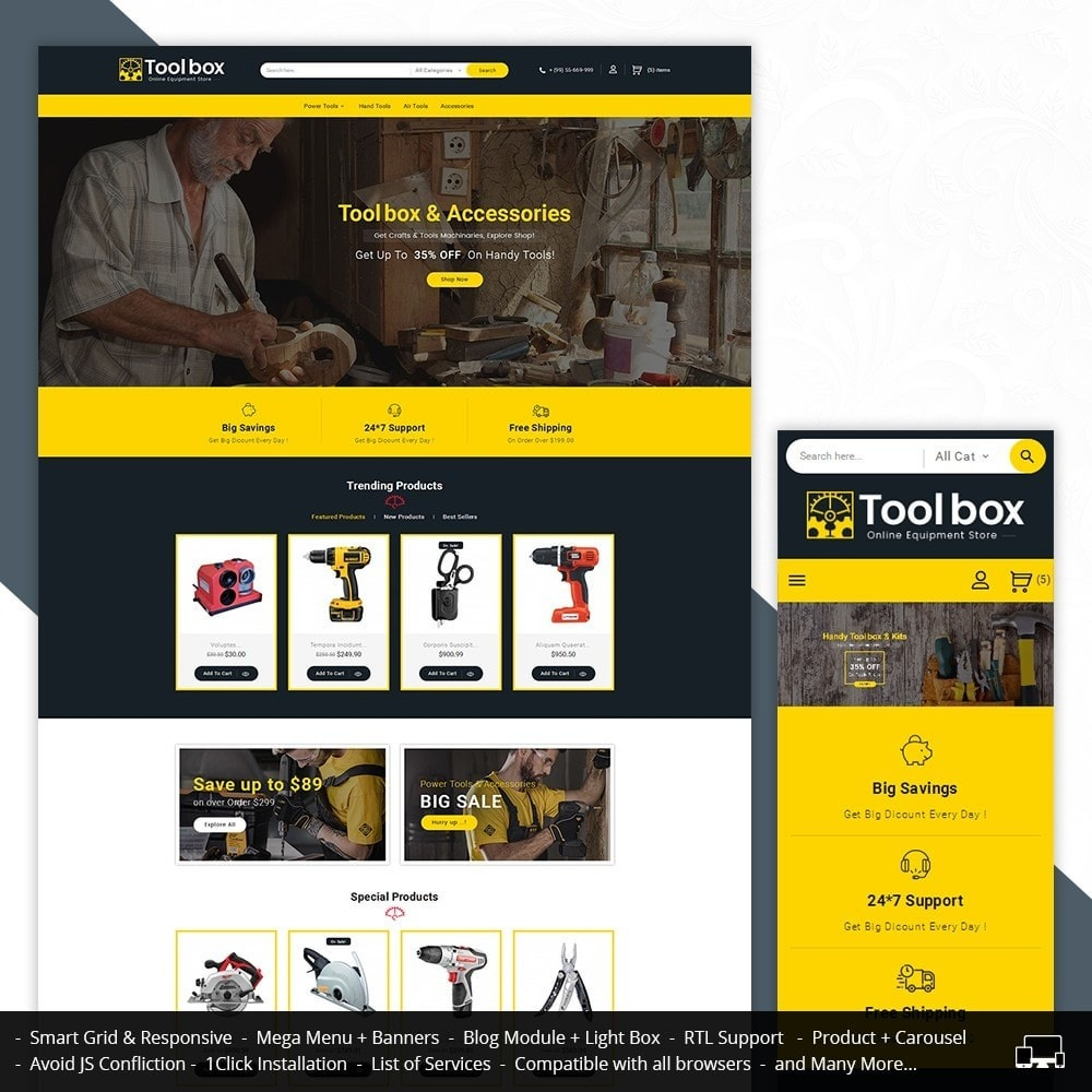 theme - Autos & Motorräder - Tools Store - 2