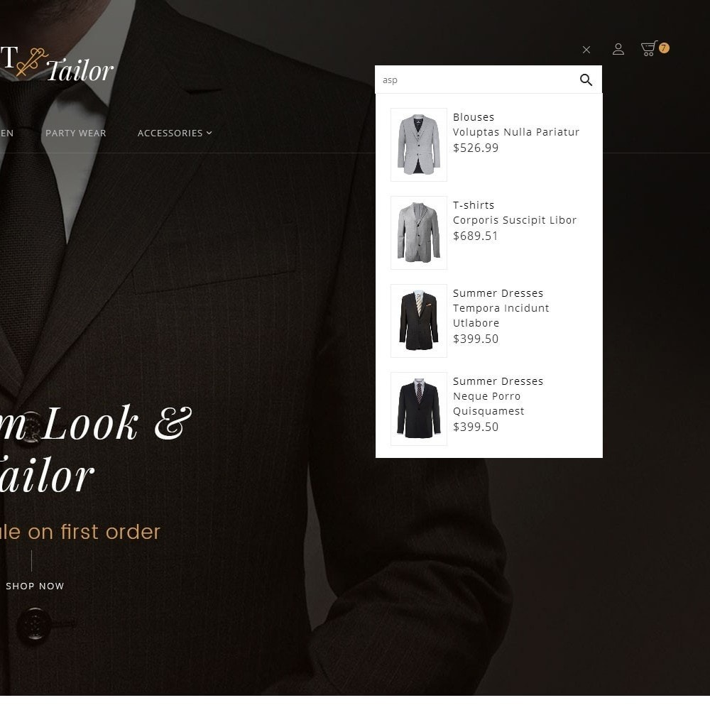 theme - Mode & Schuhe - Suit/Tailor Store - 11