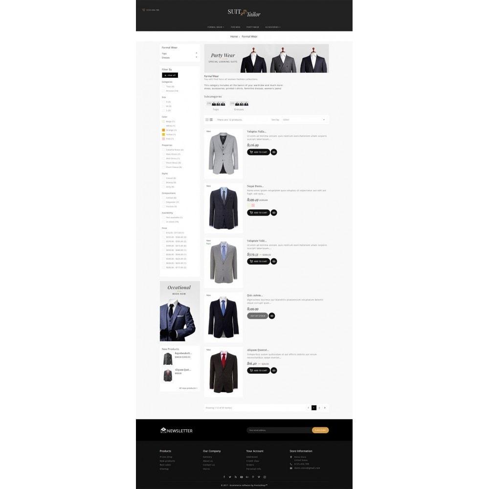theme - Moda & Calzature - Suit/Tailor Store - 5