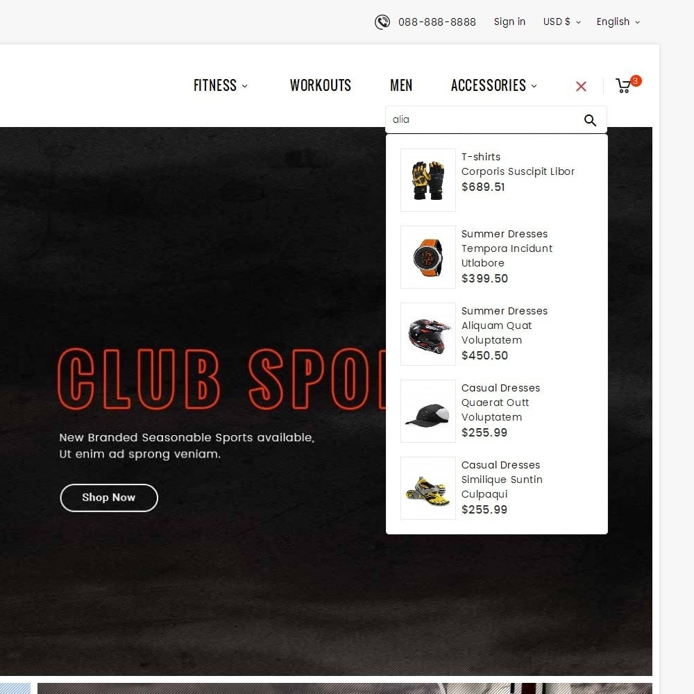 theme - Deportes, Actividades y Viajes - Sports Club - 11