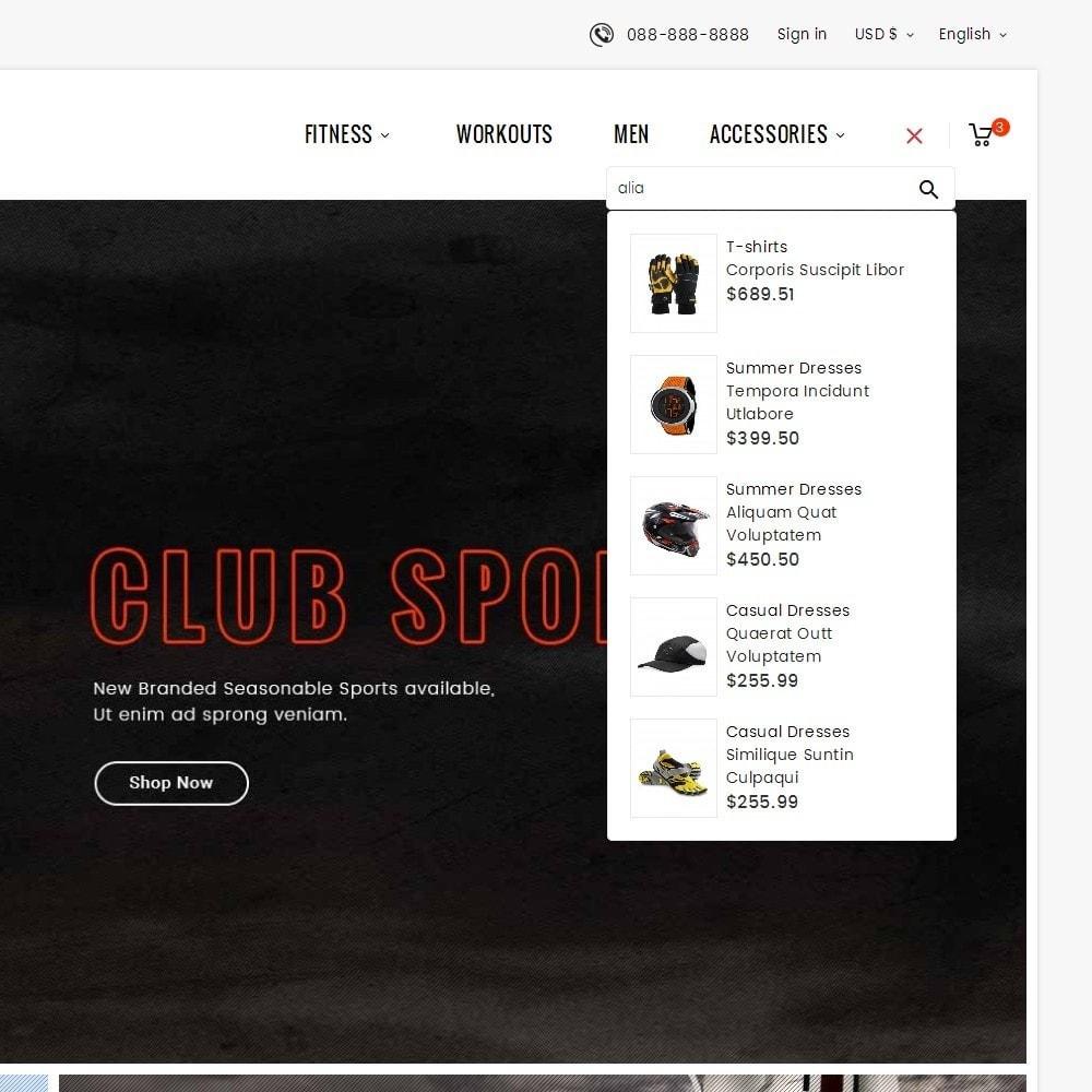 theme - Sport, Aktivitäten & Reise - Sports Club - 10