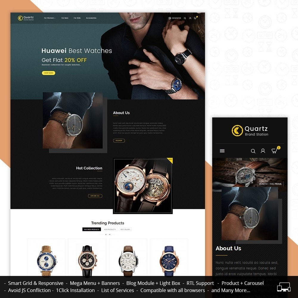 Quartz Watch Store