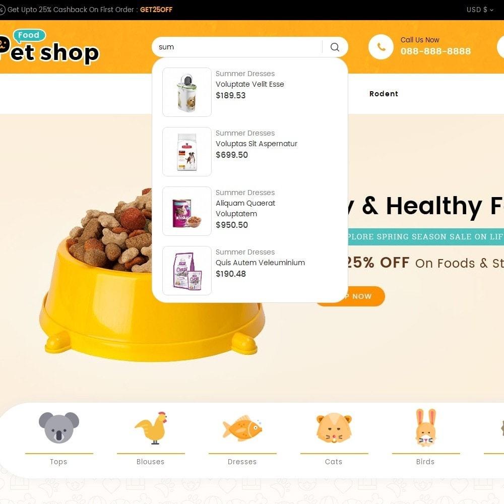 theme - Animali - Pet Food - 11