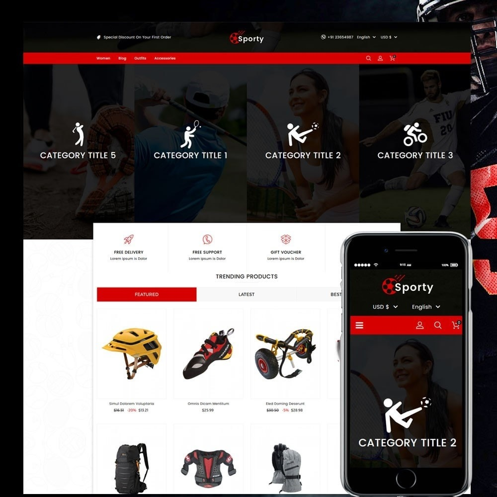 Sporty Game and Sports Store