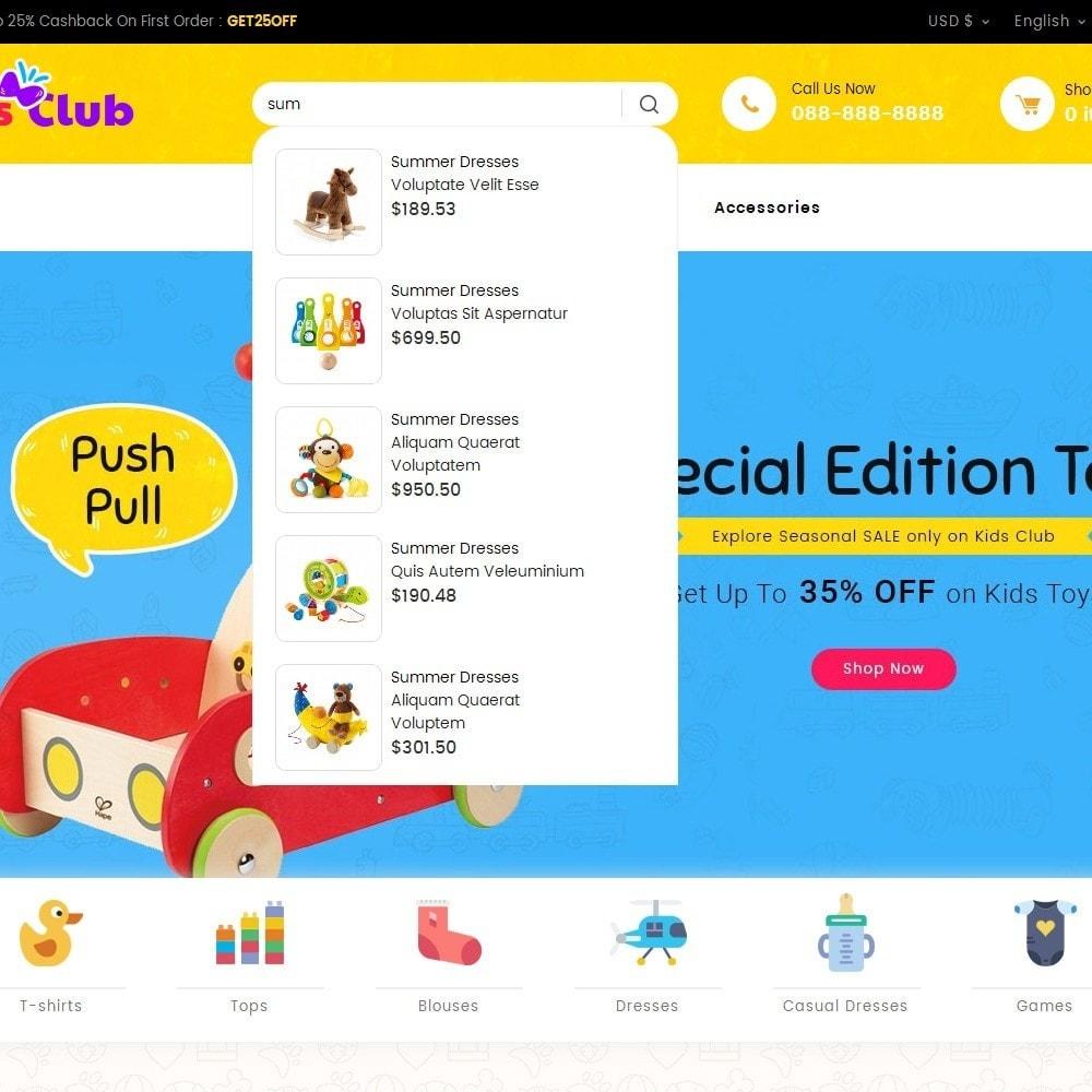 theme - Bambini & Giocattoli - Kids Toy Club - 11