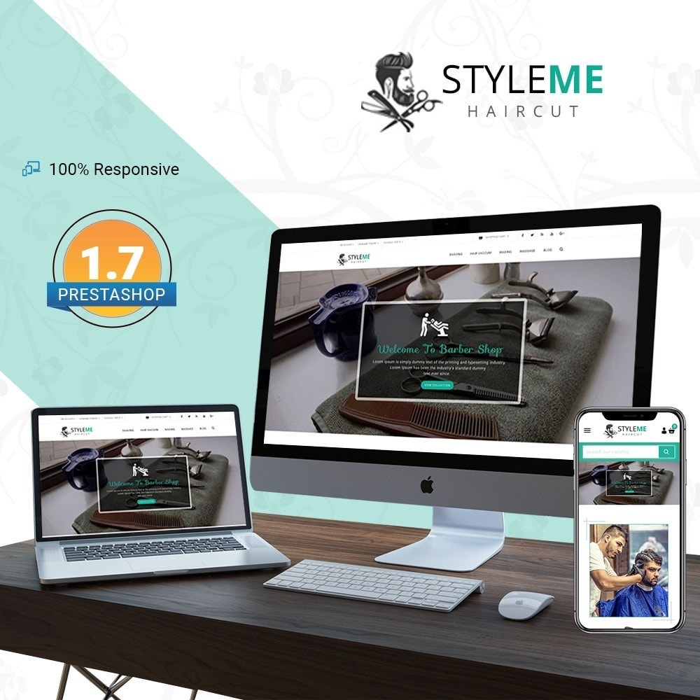 theme - Health & Beauty - Styleme - Barber Store - 1