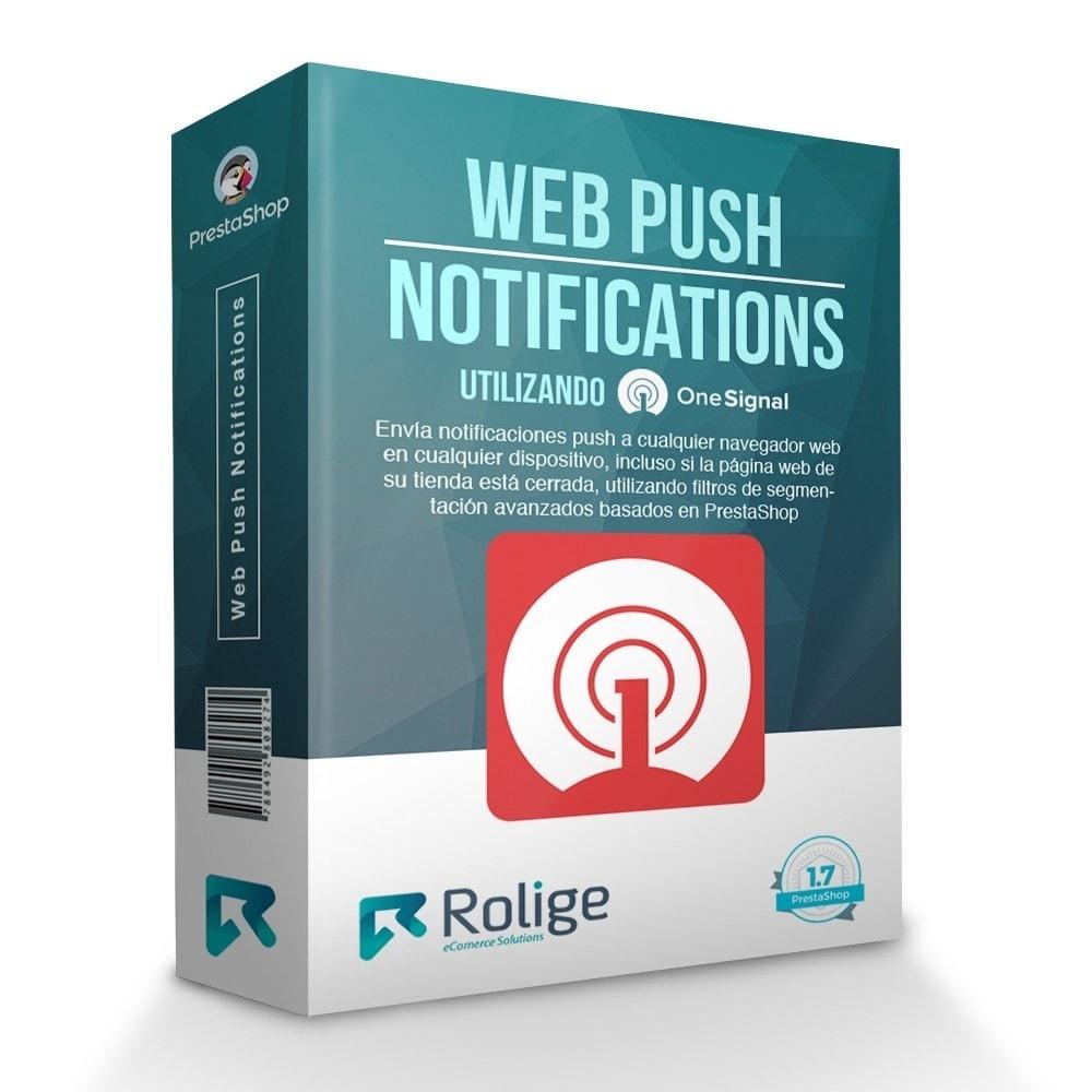 module - Remarketing y Carritos abandonados - Notificaciones Push del Navegador Web usando OneSignal - 1