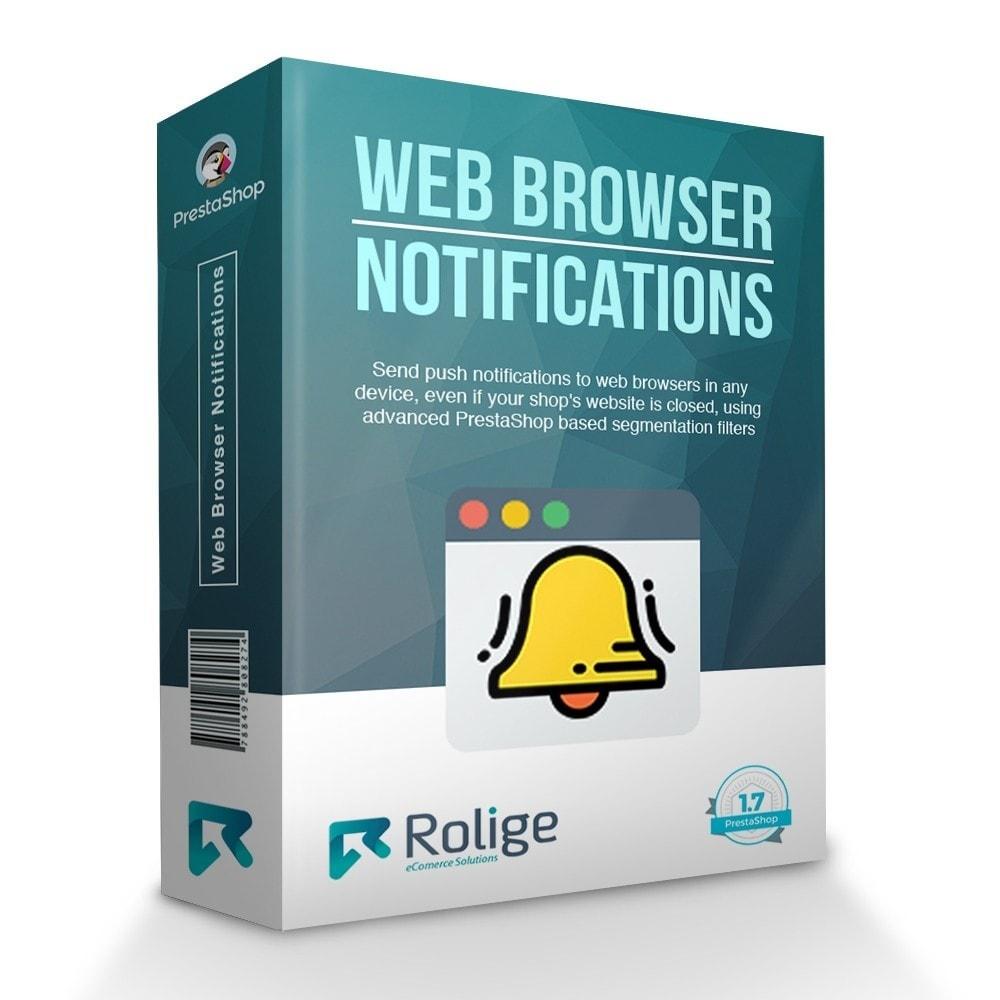 module - E-mails y Notificaciones - Notificaciones del Navegador Web - 1